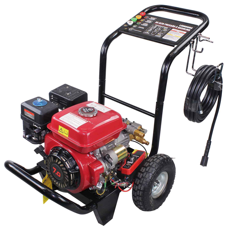 bc9fda1f01e Lavadora de Alta Pressão a Gasolina Partida Elétrica 2900 LBS Axial Motor  7HP 168F - NLG180E · 660 -